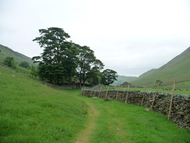 Bridleway approaching Boredale Head