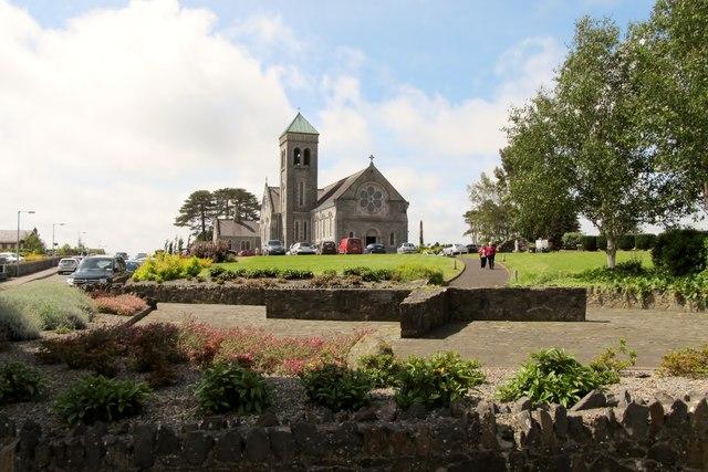 The Catholic Church of St Brigid at Kilcurry, Co Louth