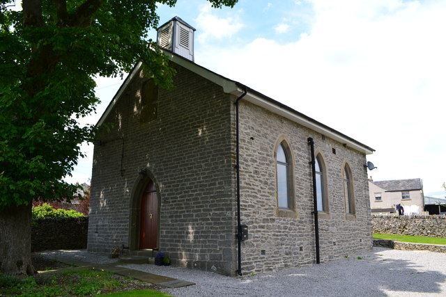 Former Unitarian Chapel in Flagg - erected 1838
