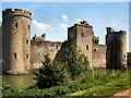 TQ7825 : Bodiam Castle by Paul Gillett