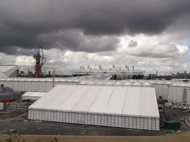 The Orbit and the Stadium, Olympic Park