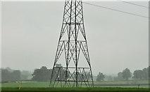 J2965 : Pylon and power lines near Hillhall, Lisburn by Albert Bridge