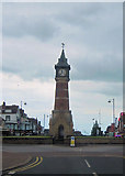 TF5663 : Skegness Clock Tower by John Firth