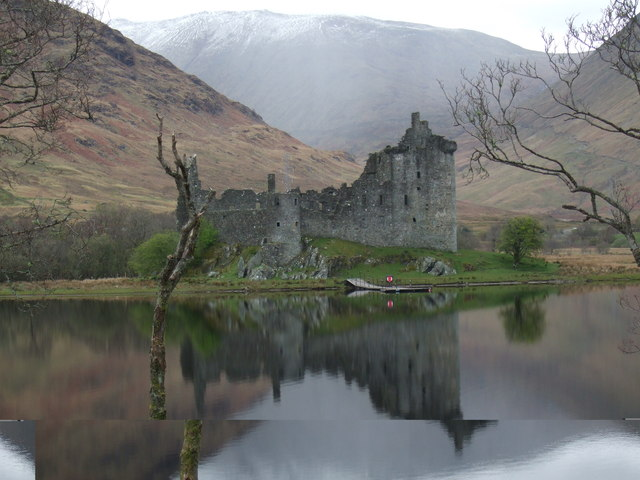 Kilchurn Castle on Loch Awe