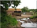 TG4025 : Farm buildings near Calthorpe Farm by don cload