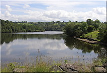 SN6503 : Lower Lliw reservoir by john bristow