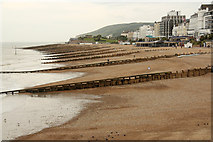 TV6198 : Eastbourne beach by Richard Croft