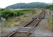 SH6214 : The Cambrian railway at Morfa Mawddach station by Mat Fascione