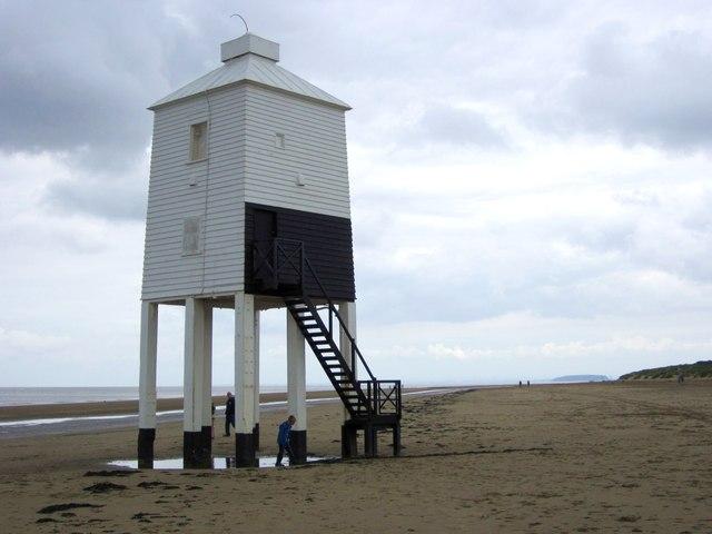 The lighthouse on legs