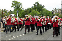 NT2540 : Peebles Silver Band by Jim Barton