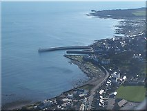 SC2667 : Aerial view of Castletown Harbour by David Martin