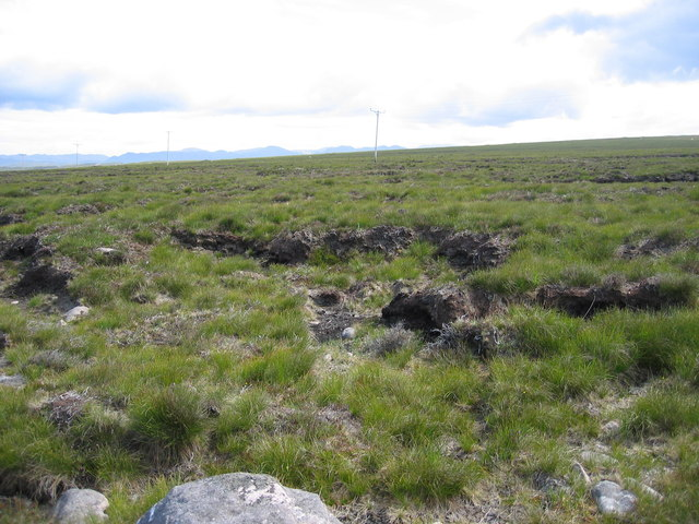 Moorland and peat cutting