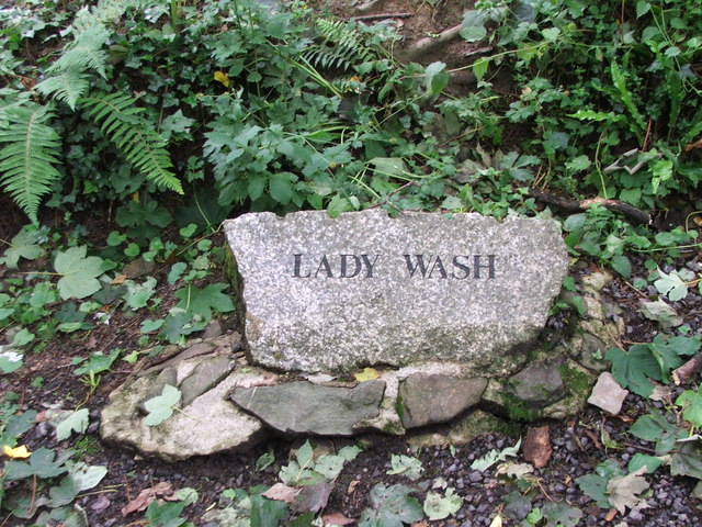 Name Plaque for Lady Wash, Torrington Commons