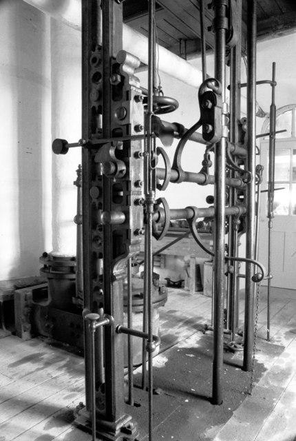 Parkandillick Clayworks - Cornish beam pumping engine