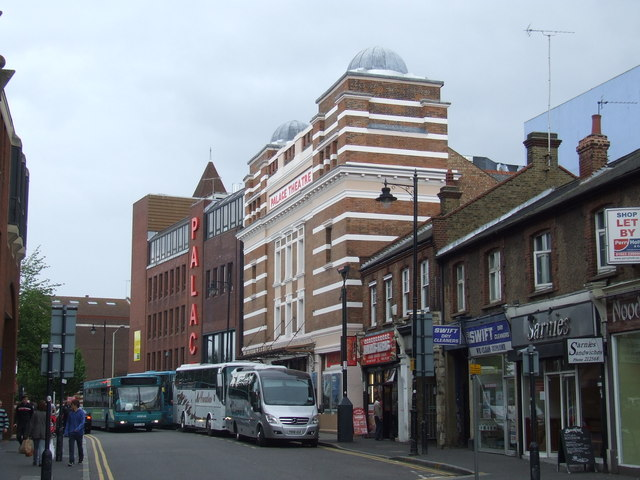 Clarendon Road and Palace Theatre, Watford