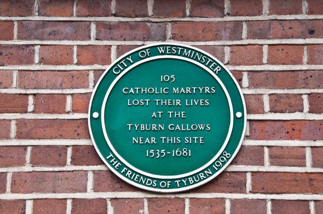 Commemorative Plaque - Bayswater Road, London