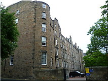 NT2572 : Buccleuch Place tenement backs by kim traynor