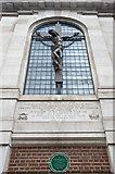TQ2780 : Window and Crucifix - Tyburn Convent by Mick Lobb