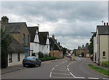 TL4568 : Cottenham: the north end of the High Street by John Sutton