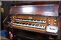TQ7126 : Organ console, Etchingham church by Julian P Guffogg
