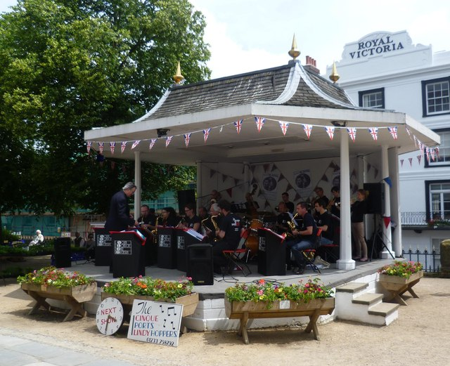 Bandstand on The Pantiles, Tunbridge Wells