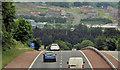 J3083 : The A8(M), Newtownabbey (4) by Albert Bridge