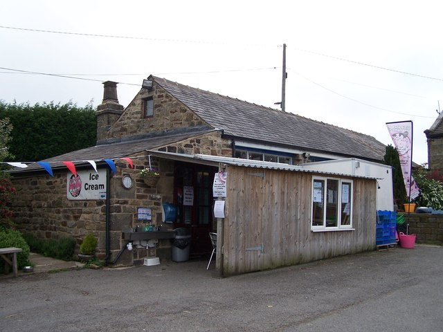 Our Cow Molly's Farm Shop, Hill Top    © Terry Robinson cc