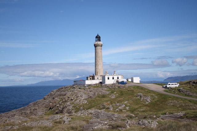 The lighthouse at Ardnamurchan Point
