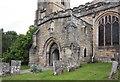 TQ7736 : St Dunstan, Cranbrook - Porch by John Salmon