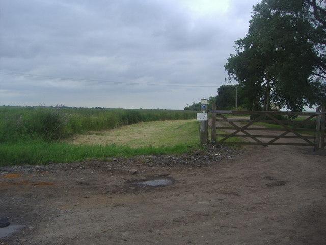 The entrance to Bridgewick farm