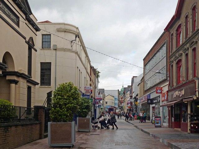 High Street, Merthyr Tydfil