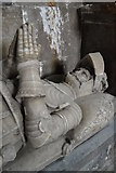 SK5276 : Stone effigy of Roger Manners of Whitwell 1632 by Neil Theasby