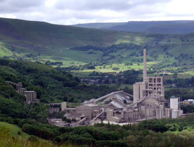 Hope Cement Works 169 Stephen Burton Geograph Britain And