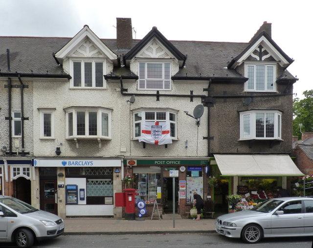 Ruddington Post office