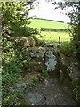 SX6890 : Stile near Frog Mill by Derek Harper