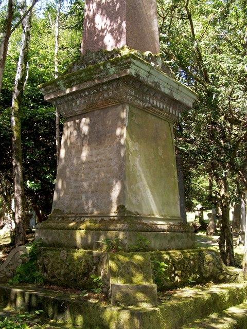 Memorial to Thomas Fairrie