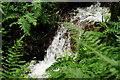 SH6706 : Waterfall at Abergynolwyn, Gwynedd by Peter Trimming