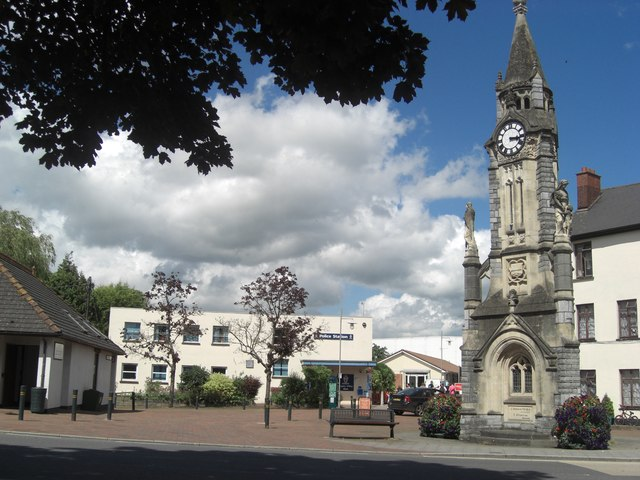 Lowman Green Police Station and Clock Tower