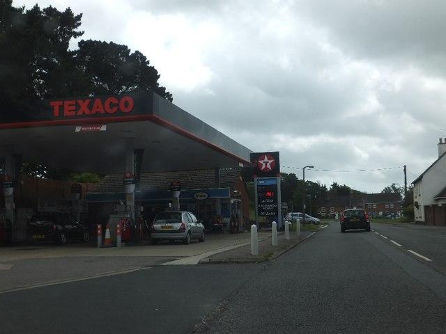 Texaco Filling Station, Moortown