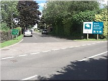 SS9612 : Entrance to the Grand Western Canal Country Park by Charley Clarke