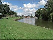 SS9612 : Grand Western Canal Basin by Charley Clarke