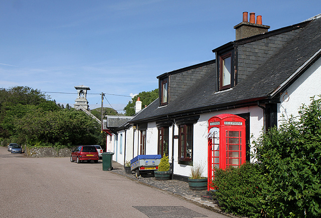 The Old Post Office holiday cottage at Clachan Village