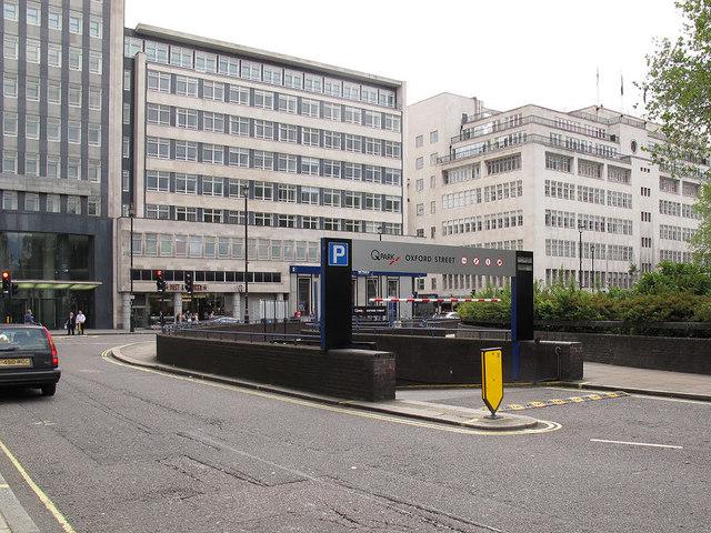 Entrance To Underground Car Park 169 Stephen Craven Cc By Sa