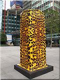 TQ2982 : Leopard print Artbox by Stephen Craven