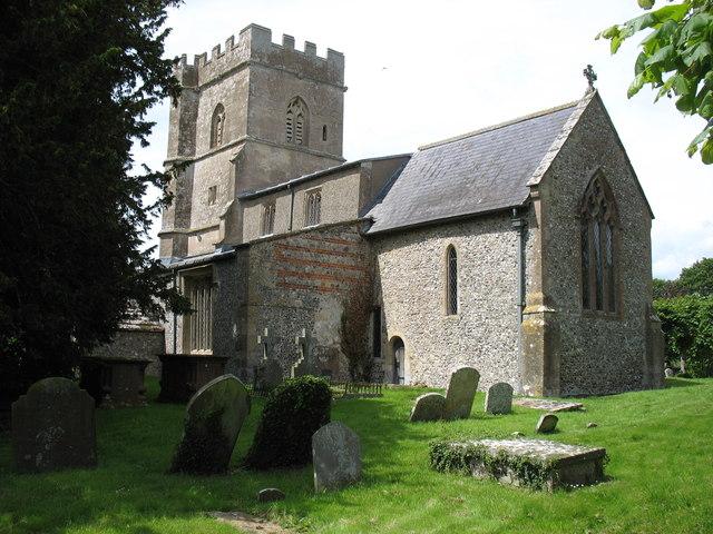 St Andrew's church, Ogbourne St Andrew