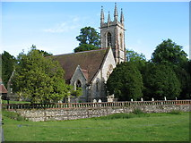 SU7037 : St Nicholas church, Chawton by David Purchase