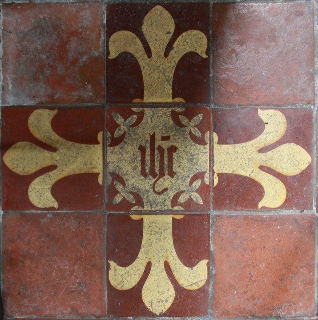 St Mary, Luddenham - Tiles