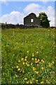 SK2175 : Derelict farm building on Middleton Lane by Neil Theasby
