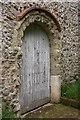TQ9963 : St Mary, Luddenham - West doorway by John Salmon