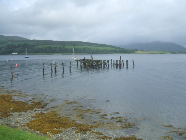 Remains of the pier